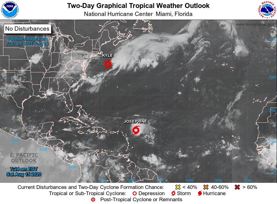La tormenta tropical Kyle podría dar lugar a un inusual e intenso ciclón extratropical