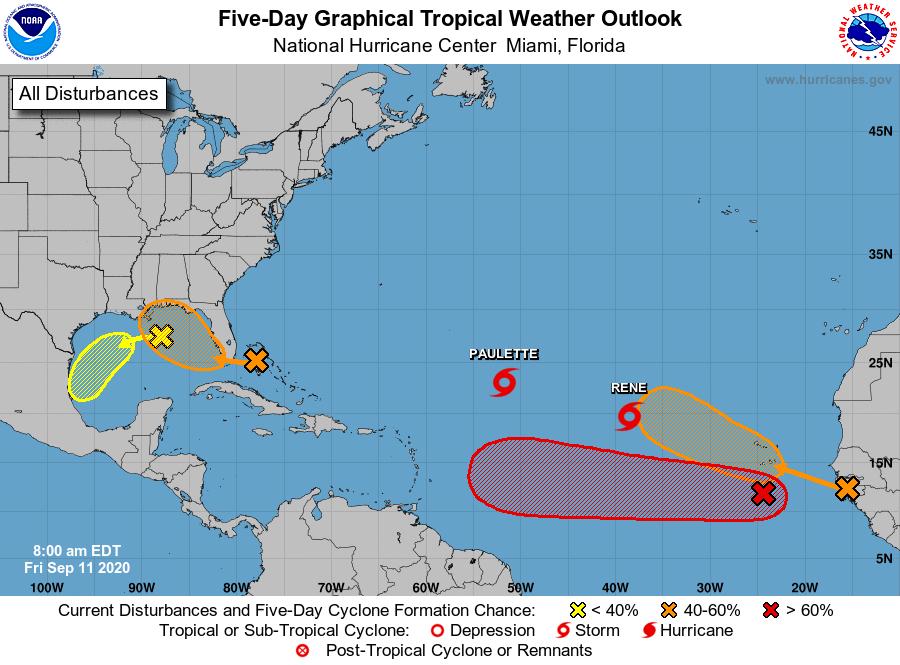La temporada de huracanes continúa con actividad frenética