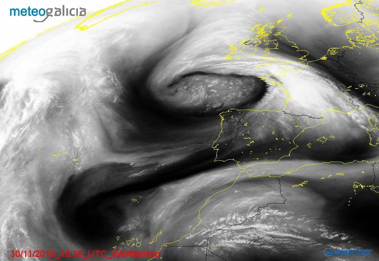 Una DANA traerá lluvias al Sudeste y Canarias