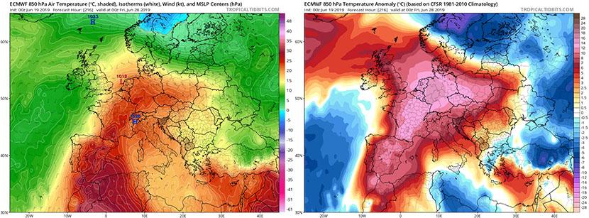 El verdadero calor de verano podría llegar antes de acabar junio
