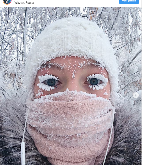 Vivir a -40 ºC de temperatura media en invierno