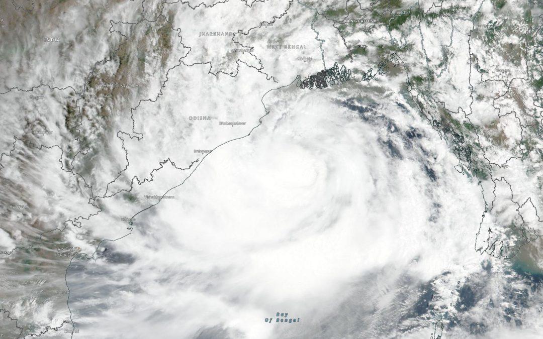 El ciclón Yaas inunda India y Bangladesh